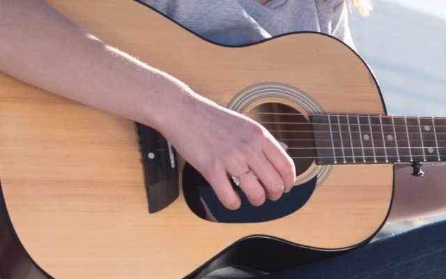 ギター爪補強